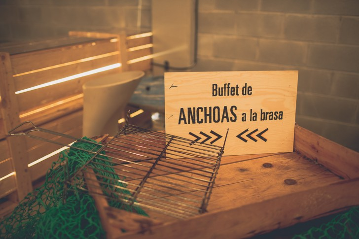 buffet de anchoas boda