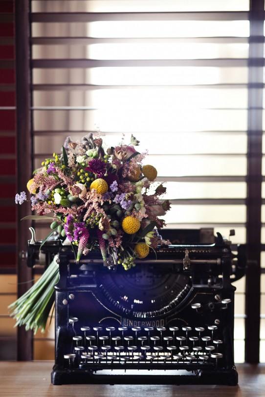 ramo denovia romántica www.bodasdecuento.com