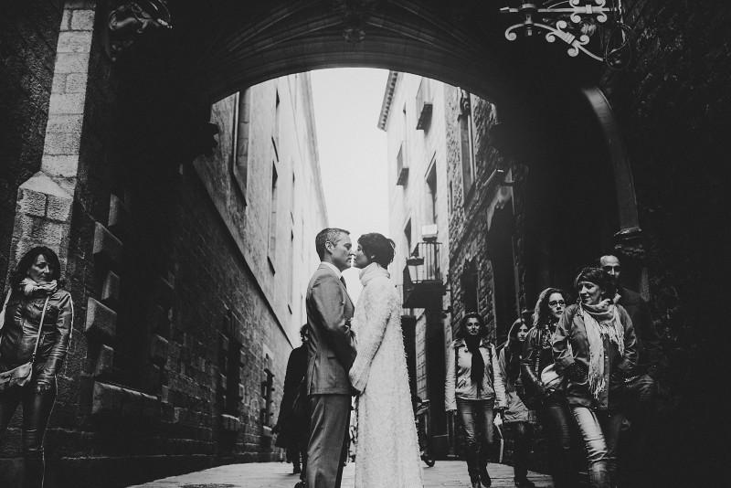 boda barrio gótico barcelona www.bodasdecuento.com
