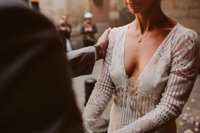 vestido de novia claire pettibone www.bodasdecuento.com