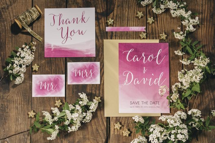 wedding stationery www.bodasdecuento.com