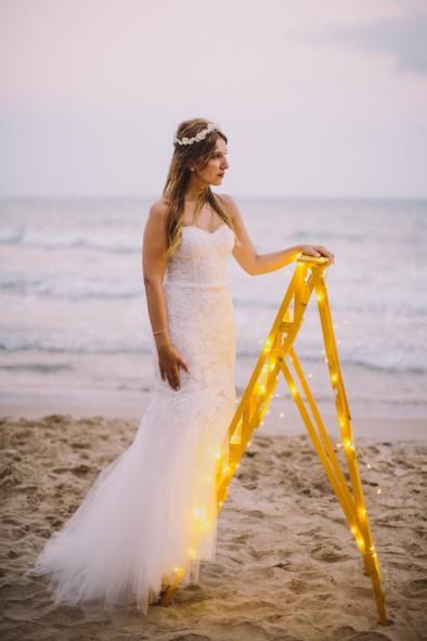 novia en la playa www.bodasdecuento.com