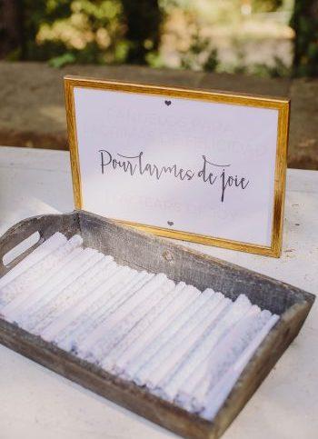pañuelos lágrimas de felicidad www.bodasdecuento.com