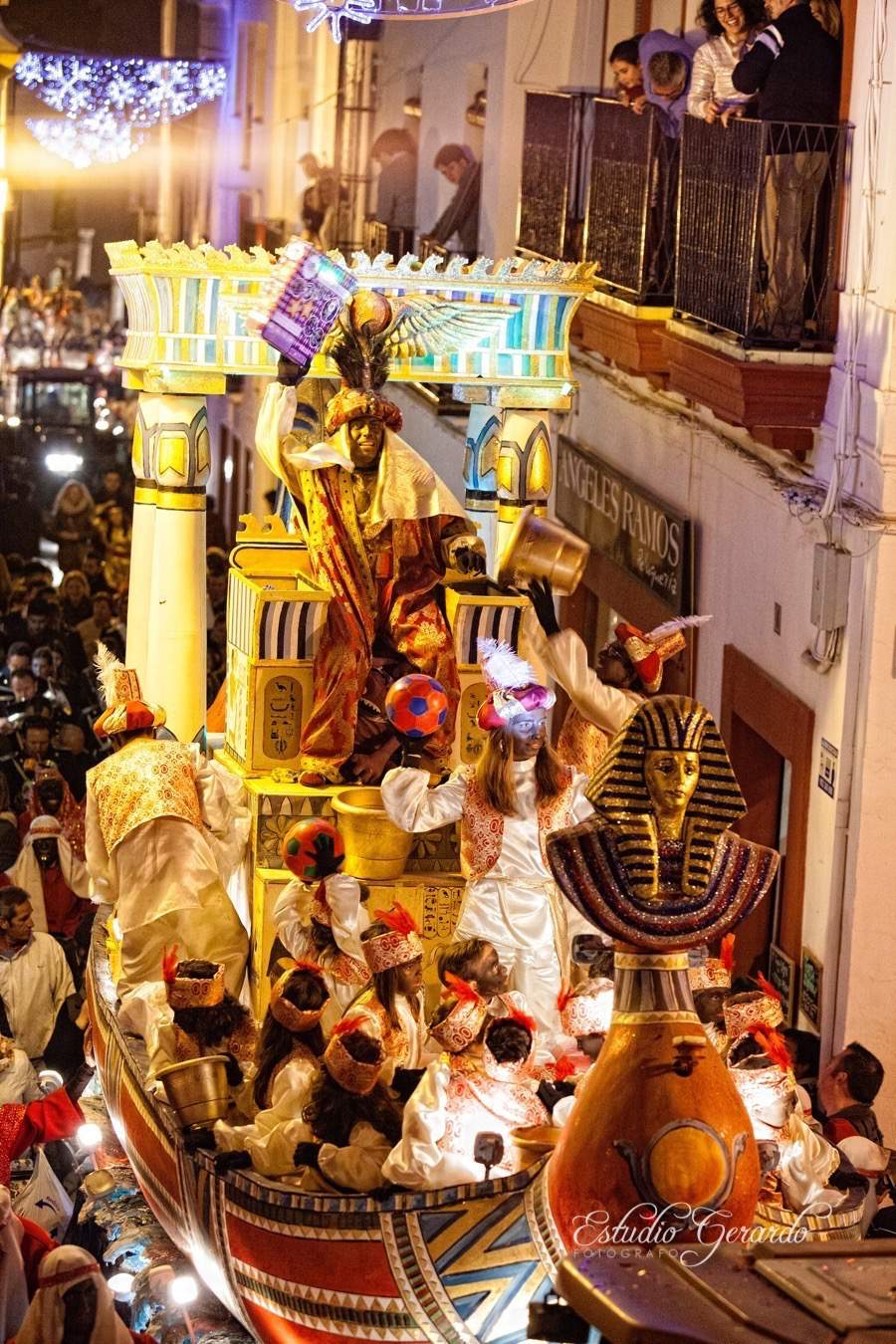 Cabalgata de Reyes Magos 2015 Carmona