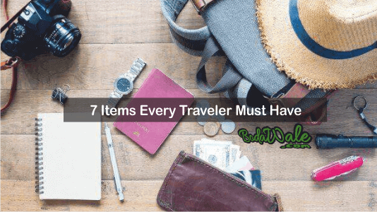 traveler items