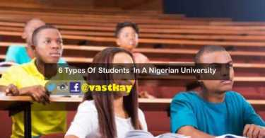 students in Nigeria university