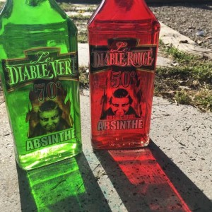 Absenta Le Diable Vert y Le Diable Rouge