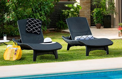 para exterior rattan sillas modernas