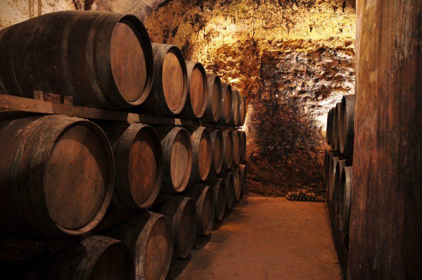 calado with barrels