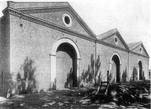 Frente de la Bodega a principios del siglo XX
