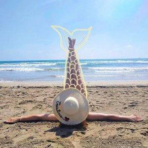 pamelas personalizadas para la playa