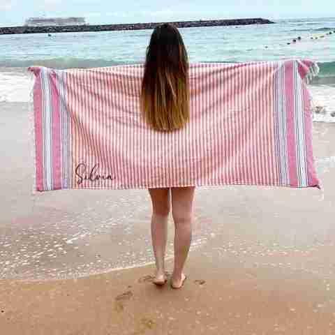 Pareo-toalla personalizado