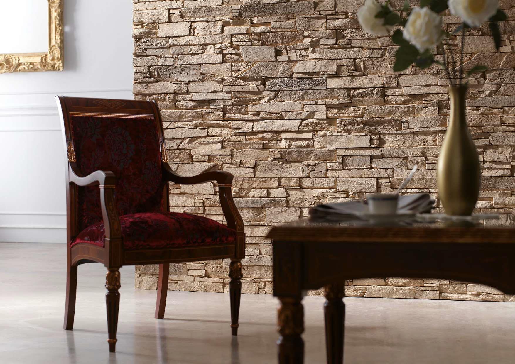 PanelPiedra Classic PIZARRA ANDES MARRON ARENA Wandverkleidung Wandpaneel