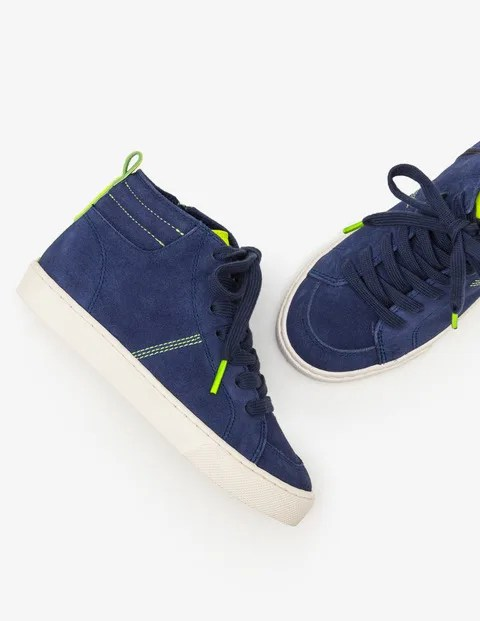 Navy High Tops £15.20