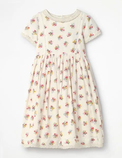 Nostalgic Print Dress