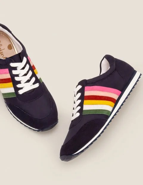 Rainbow trainers