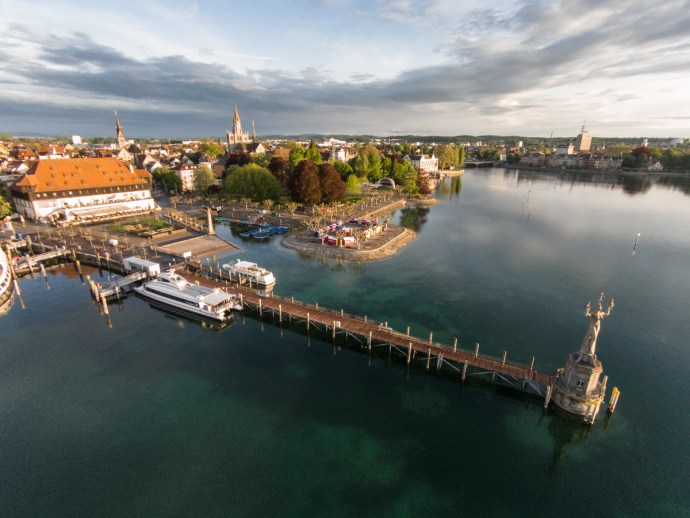 Konstanz Imperia Bodensee-Radweg