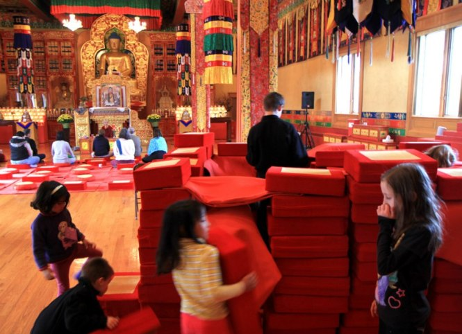 Building a Dharma fortress