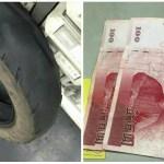 【善氣沖天】機車行老闆幫經濟困難的阿婆換新胎故意只收200塊,隔天阿婆卻給了讓他超感動的東西…