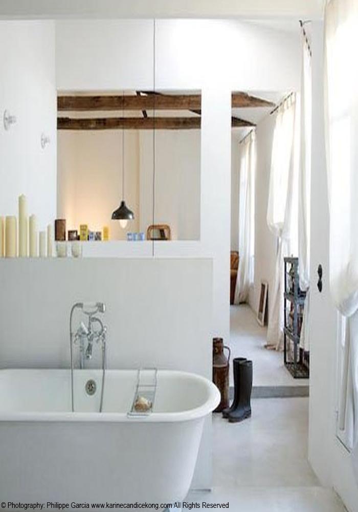 A small, beautiful Parisian flat