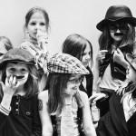 Mila's Moustache party