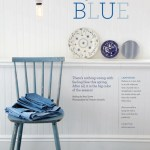 Styling with blue