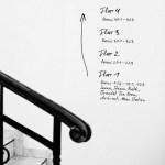 DETAILS | Une écriture sur un mur