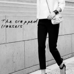 Winter look 2: Cropped trousers