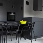 Black dining chairs…