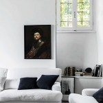 Decorating with old paintings