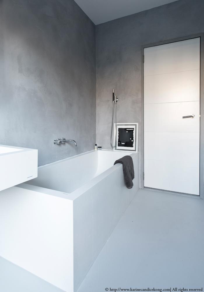 Our Tadelakt bathroom   Renovations. Interior Design Project by Karine Candice Kong Read on www.karinecandicekong.com