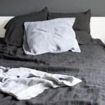 Using dark hues in the bedroom