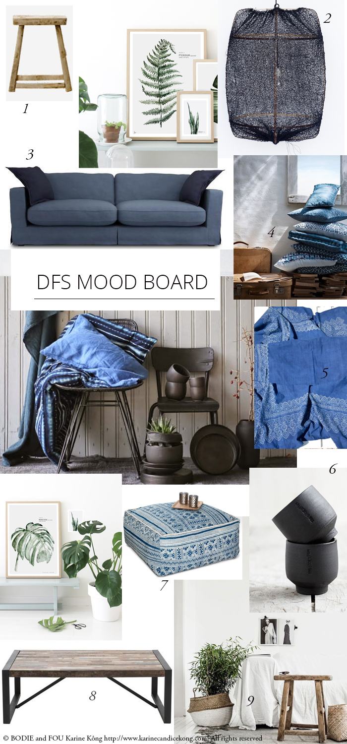Summer campaign Styling for DFS. How to get the costal vibes