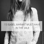 """15 """"must-have"""" D'Isabel Marant en solde"""