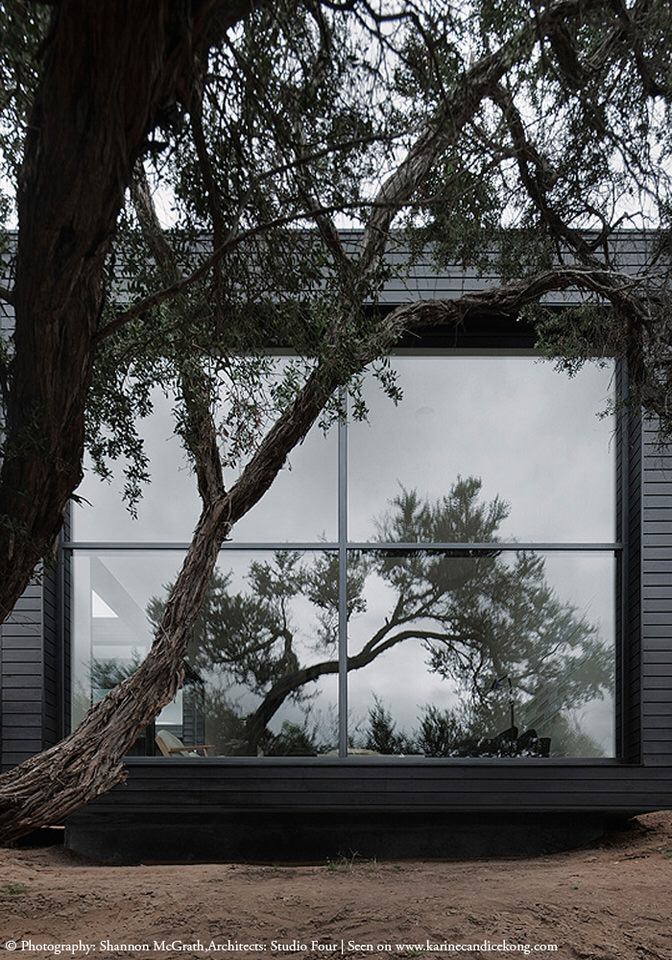 HOUSE TOUR: A beautiful, architectural house with black cladding. Read on...