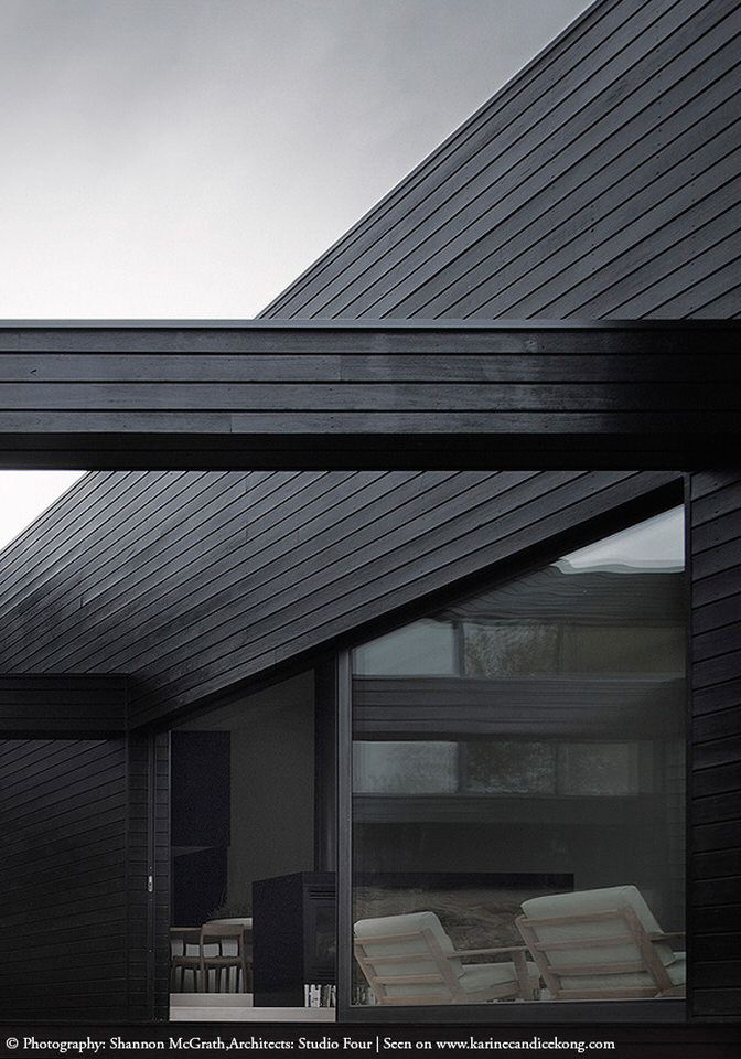 HOUSE TOUR A beautiful, architectural house with black cladding. Read on...
