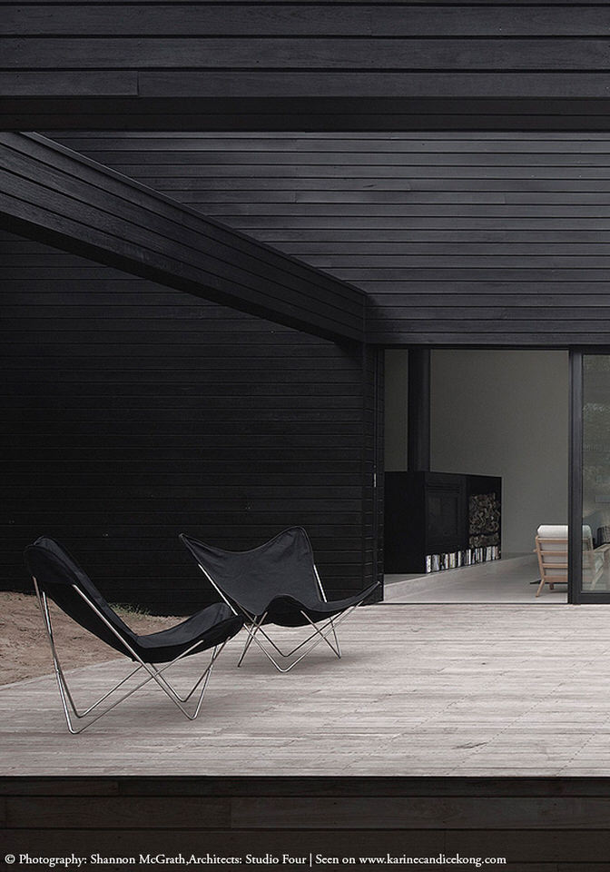 HOUSE TOUR A beautiful, architectural house with black cladding