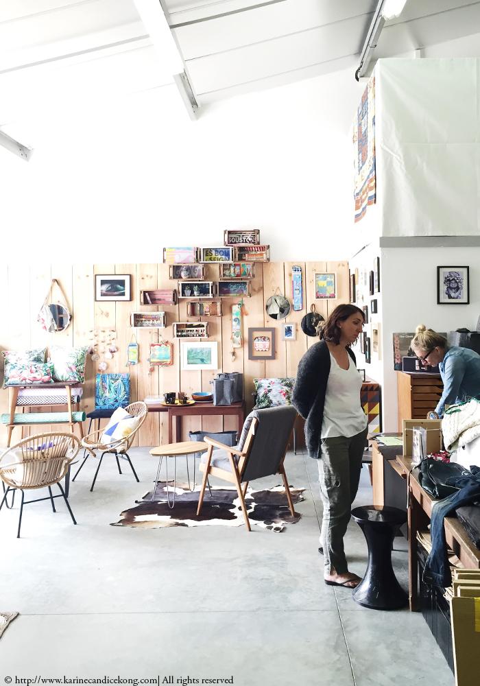 Collective Soul Shop in Hossegor (C) Karine Köng