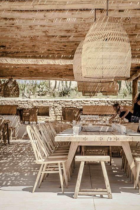 Scorpios beach club in Mykonos