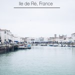 Travelling to l'ile de Ré