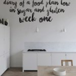 Food plan diary low in sugar* & gluten | Week 1