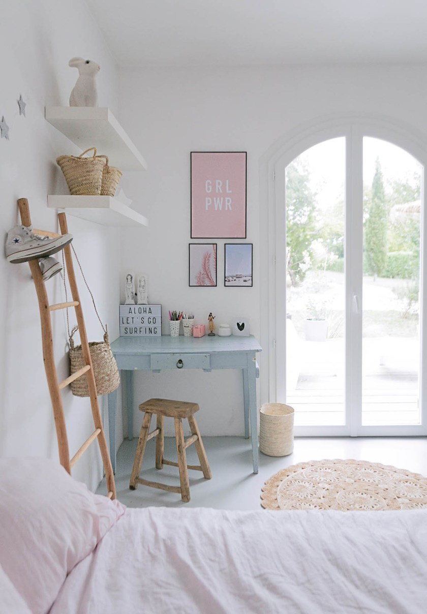 Teenage's desk area & bedroom makeover BEFORE & AFTER