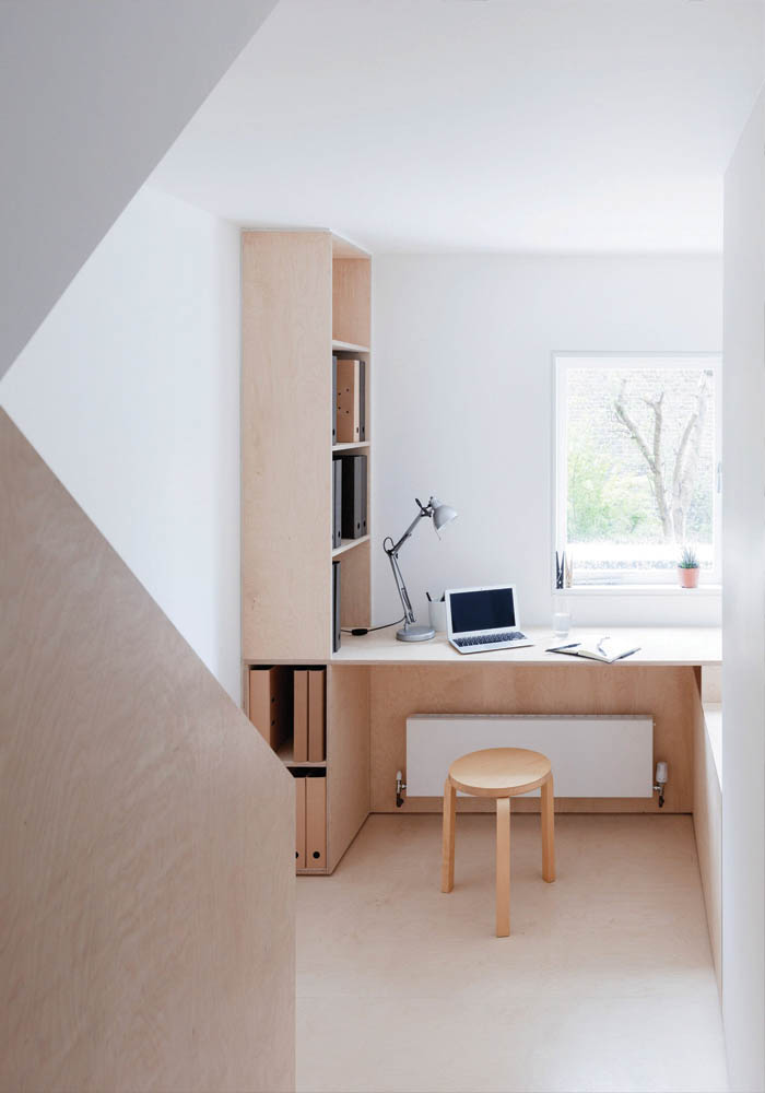 ... A Minimalist Home In London Built Around A Plywood Kitchen ...