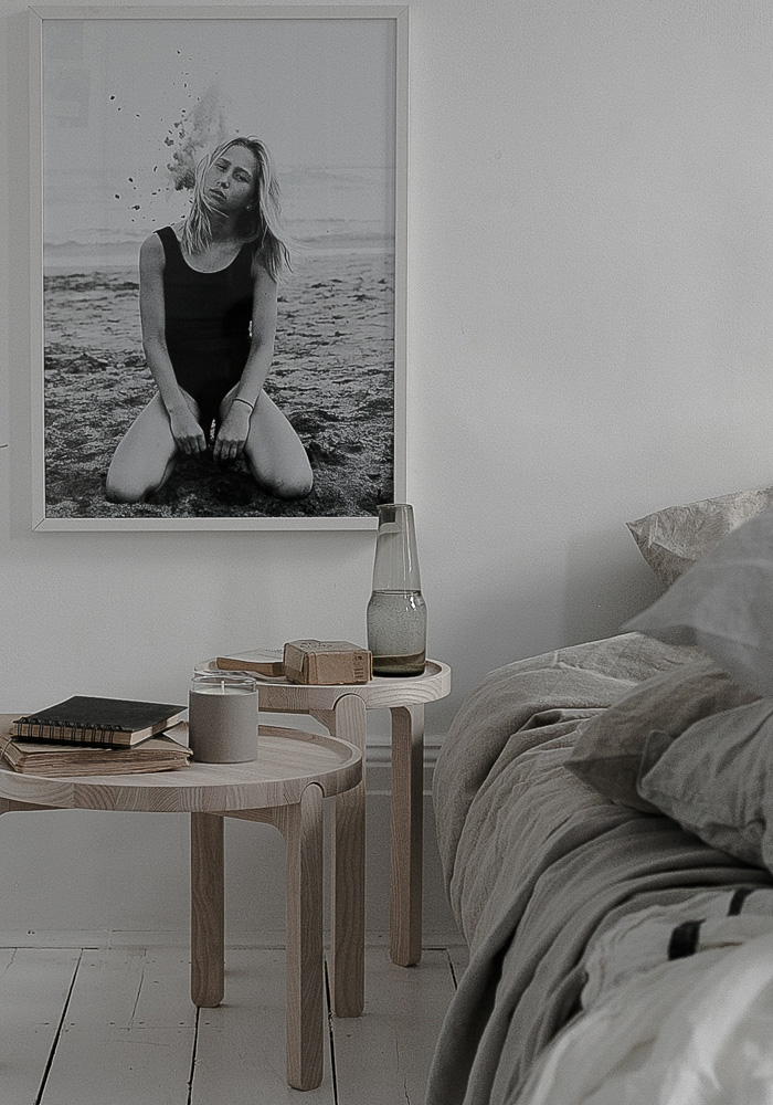 An effortlessly chic & natural style bedroom