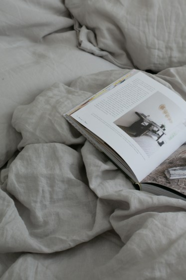 Stonewashed linen by Magic Linen