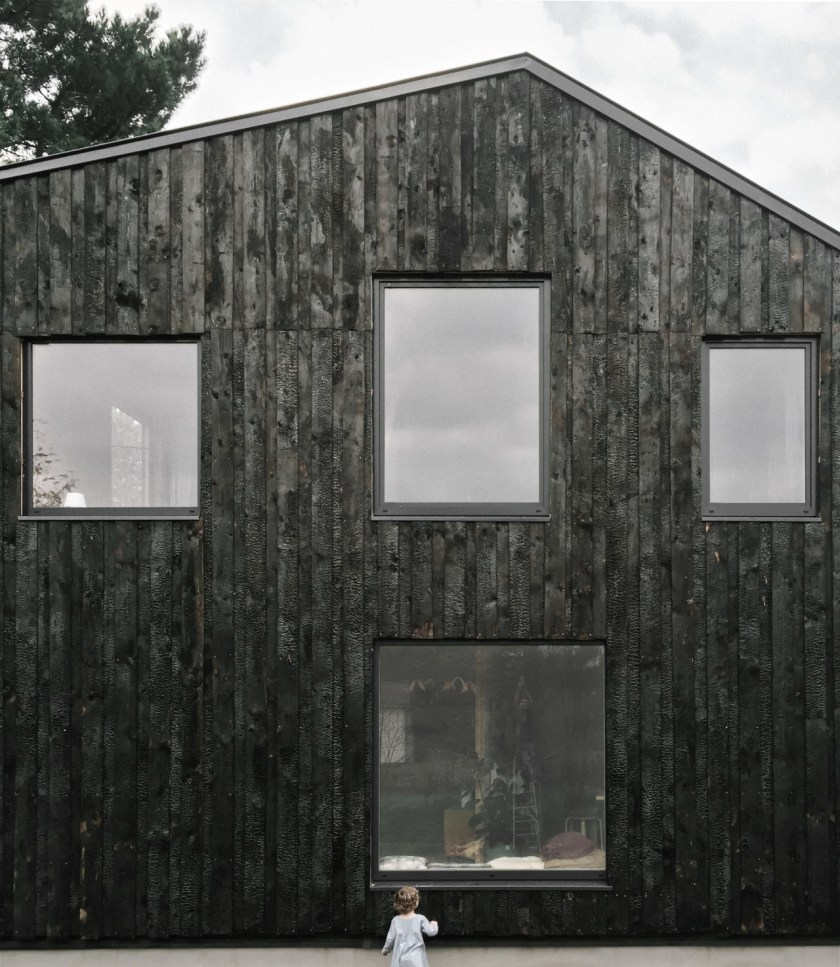 The wooden house of a Fashion Designer