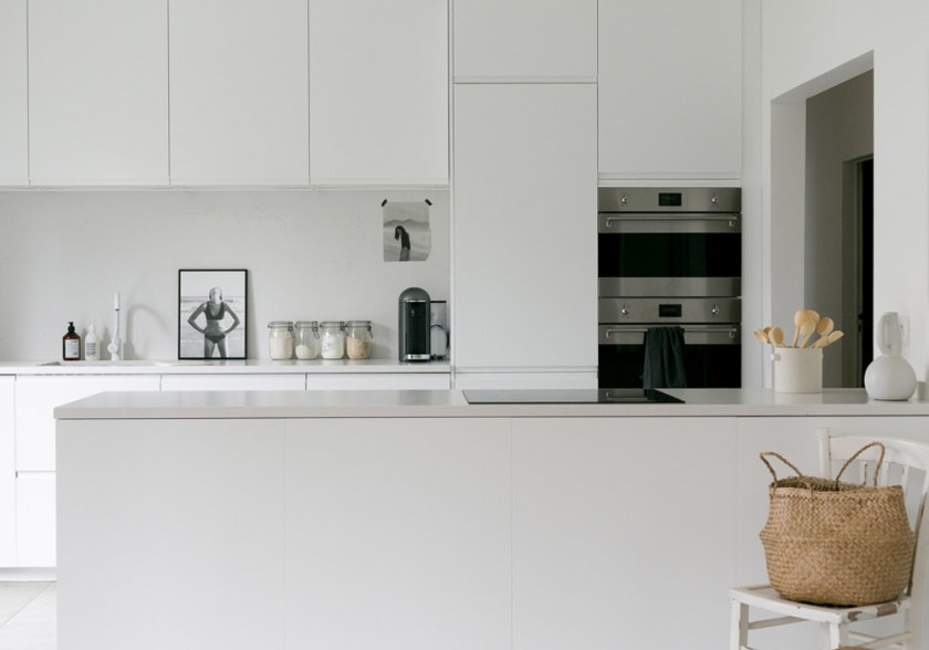 our white minimalist kitchen makeover