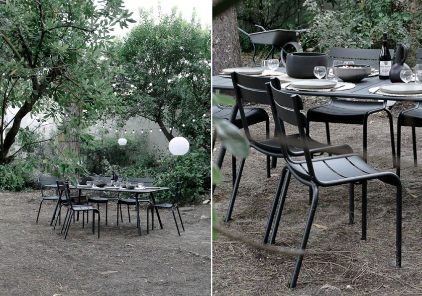 Our contemporary garden makeover with Fermob