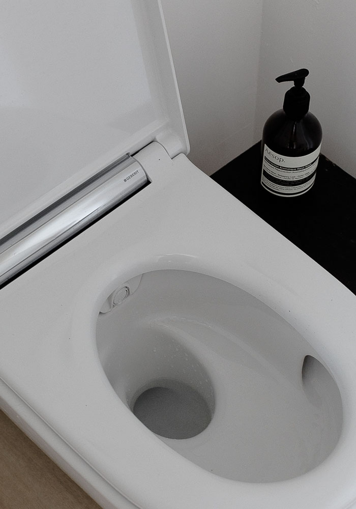 Geberit AquaClean in Casa Pyla