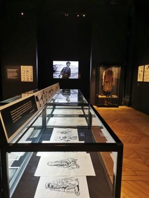 """La salle d'exposition consacrée à Didier Lefèvre, """"Le Photographe""""."""
